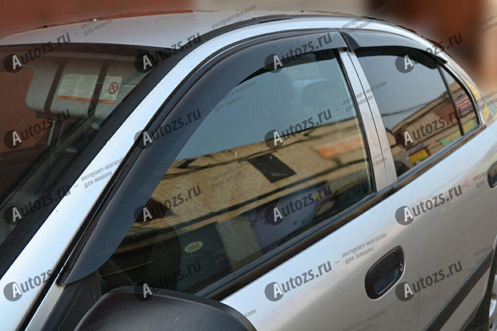Дефлекторы боковых окон Mitsubishi Carisma Седан (1995-2003)Дефлекторы боковых окон<br>Дефлекторы боковых окон индивидуальны для каждого автомобиля. Продукция изготовлена с помощью точного компьютерного оборудования и новейших технологий. Дефлекторы окон блокируют сильный ветер, бурный поток во...<br>