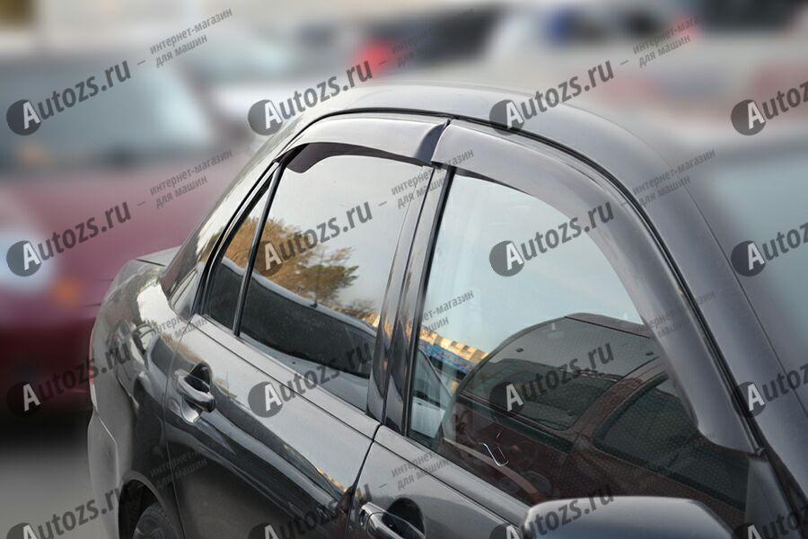 Купить Дефлекторы боковых окон Mitsubishi Lancer IX Рестайлинг Седан (2005-2010)