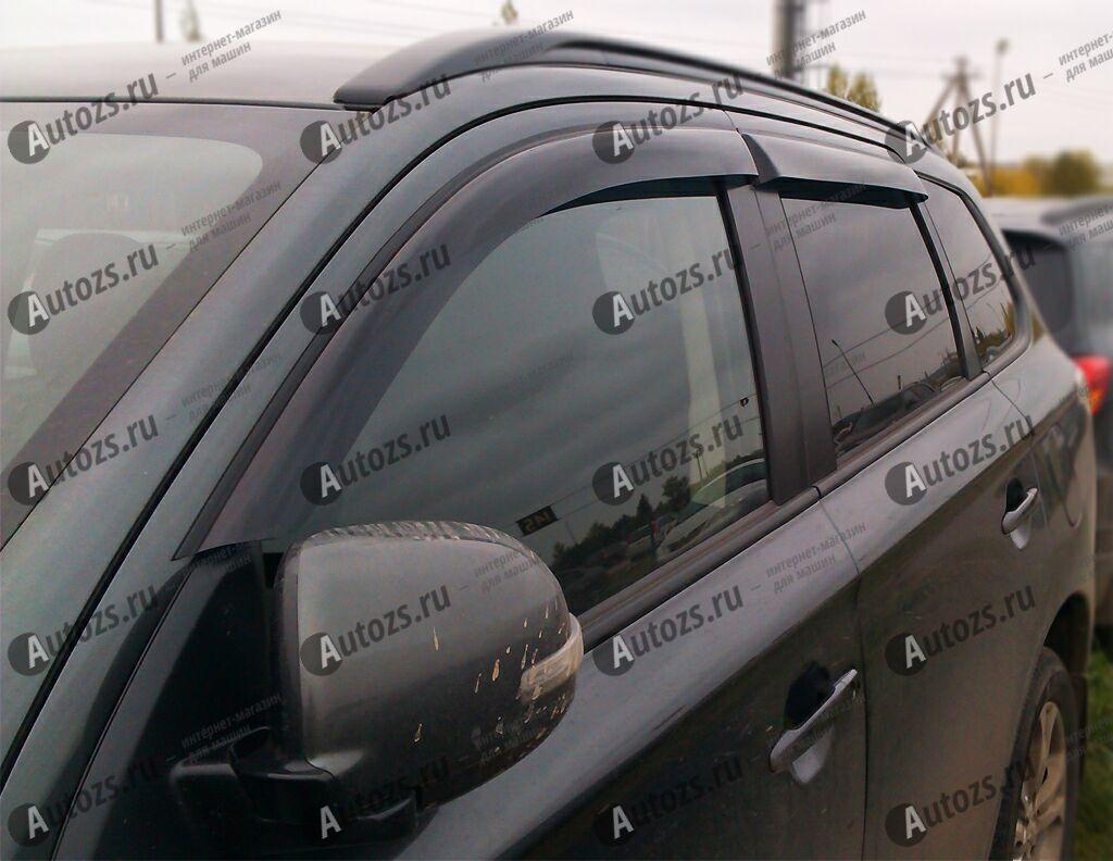 Дефлекторы боковых окон Mitsubishi Outlander III (2012+)Дефлекторы боковых окон<br>Дефлекторы боковых окон индивидуальны для каждого автомобиля. Продукция изготовлена с помощью точного компьютерного оборудования и новейших технологий. Дефлекторы окон блокируют сильный ветер, бурный поток во...<br>