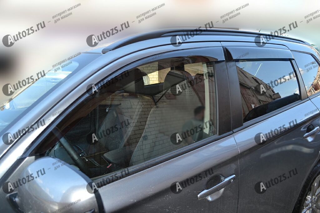 Купить Дефлекторы боковых окон Mitsubishi Outlander III Рестайлинг 2 (2015+)