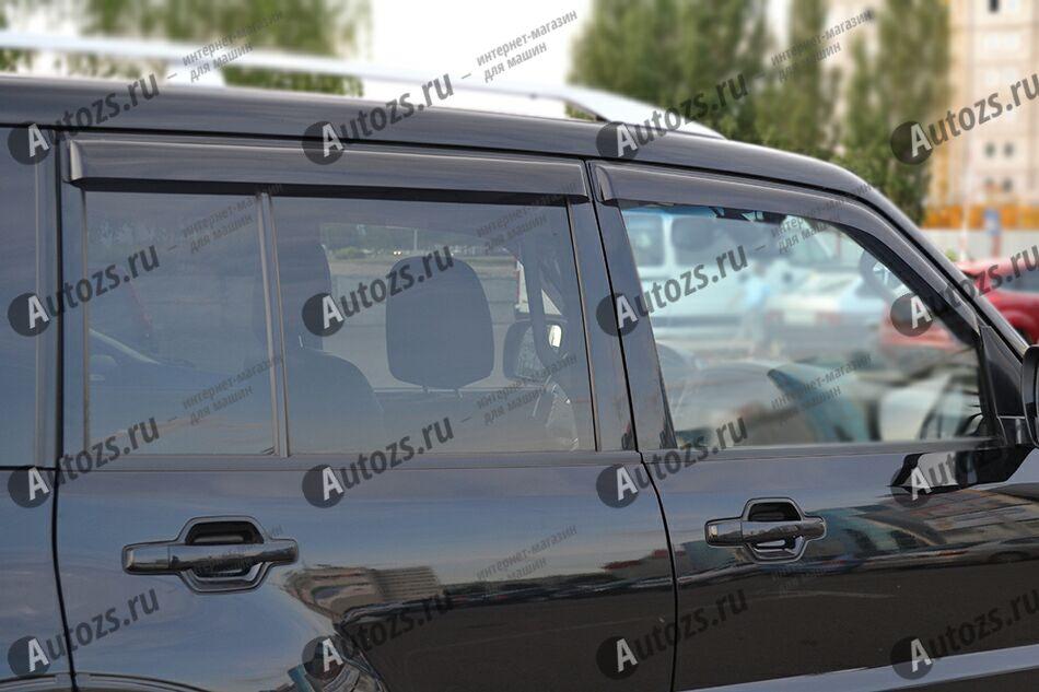 Купить Дефлекторы боковых окон Mitsubishi Pajero III Внедорожник 5дв. (2000-2006)