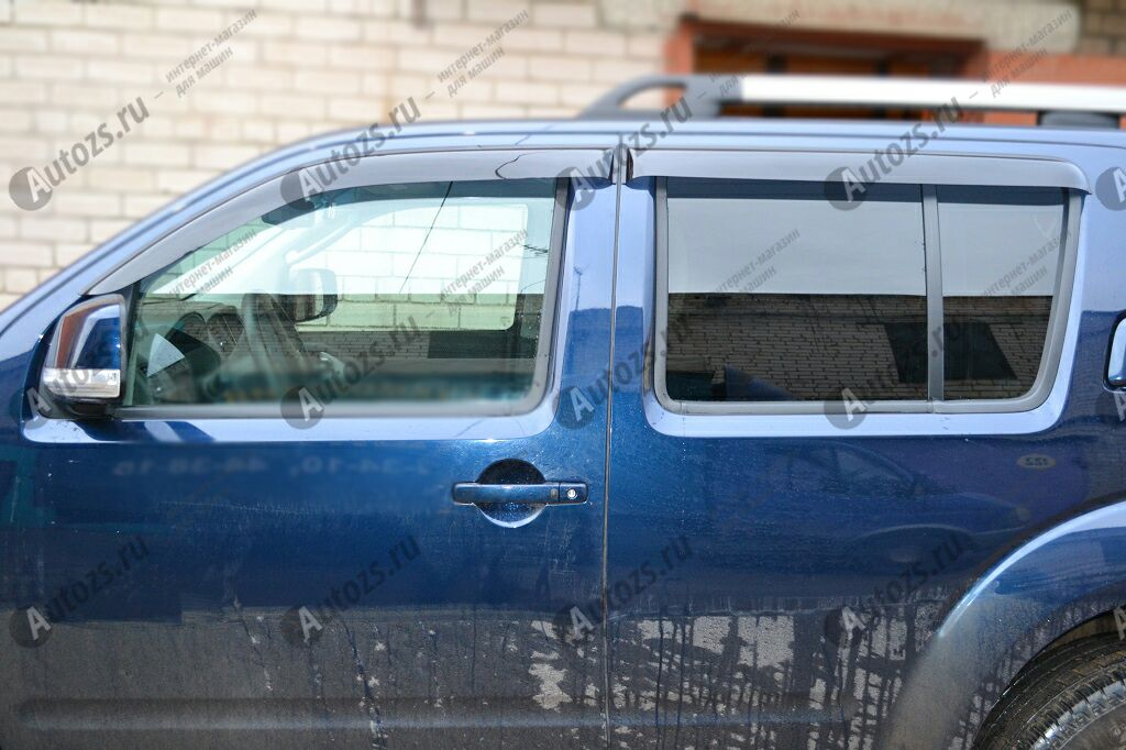 Купить Дефлекторы боковых окон Nissan Pathfinder III Рестайлинг (2010-2014)