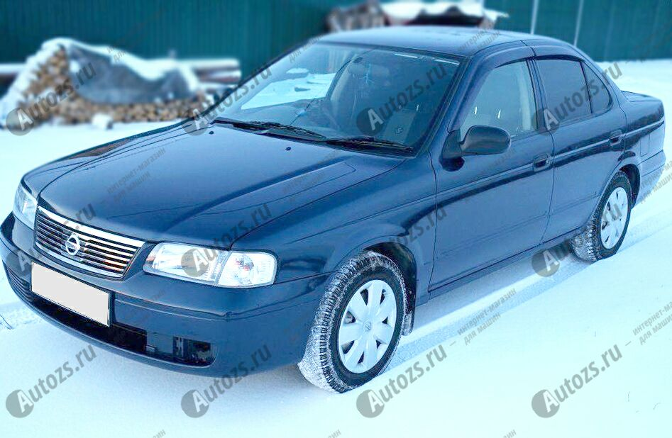 Купить Дефлекторы боковых окон Nissan Sunny N16 (2000-2005)