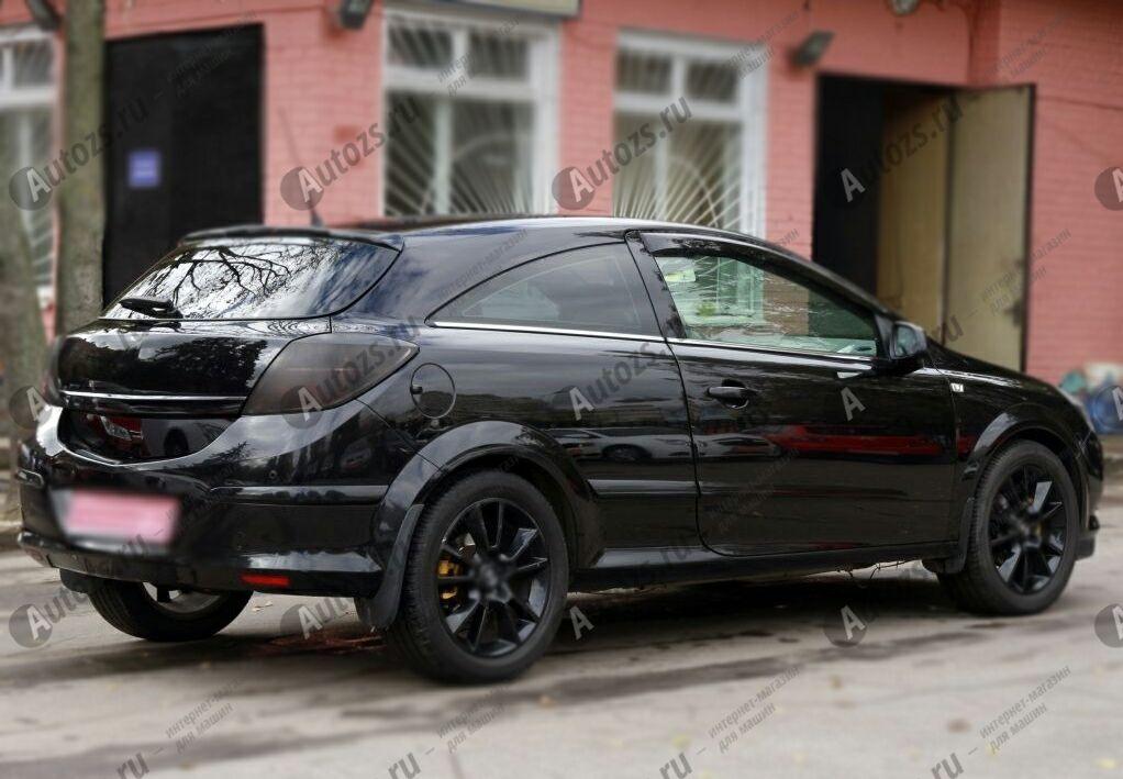 Купить Дефлекторы боковых окон Opel Astra H Рестайлинг Хэтчбек 3дв. (2005+)