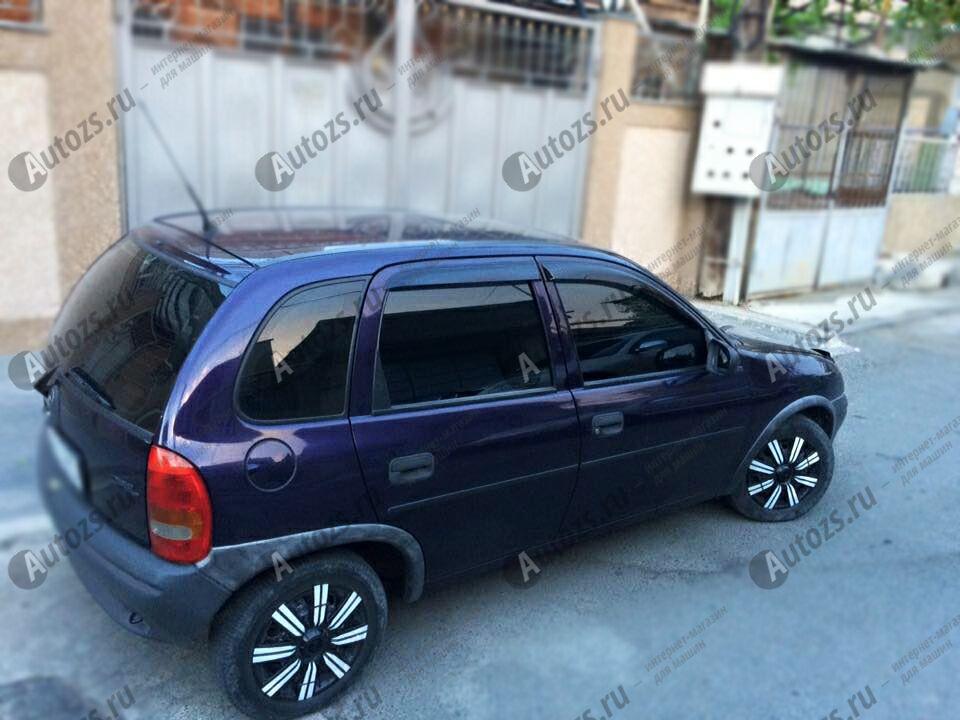 Купить Дефлекторы боковых окон Opel Corsa B Хэтчбек 5дв. (1993-2000)