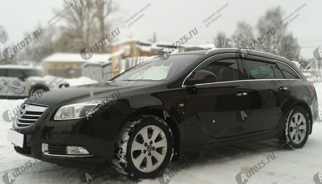 Купить Дефлекторы боковых окон Opel Insignia I Рестайлинг Универсал 5дв. (2013+)