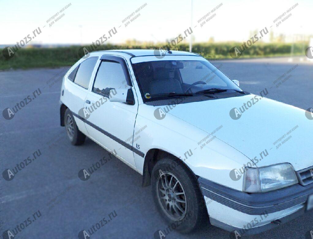 Дефлекторы боковых окон Opel Kadett E Хэтчбек 3дв. (1984-1989)Дефлекторы боковых окон<br>Дефлекторы боковых окон индивидуальны для каждого автомобиля. Продукция изготовлена с помощью точного компьютерного оборудования и новейших технологий. Дефлекторы окон блокируют сильный ветер, бурный поток во...<br>