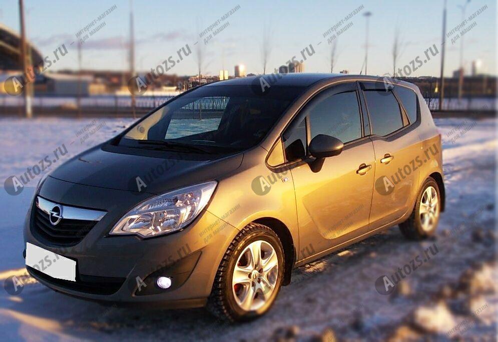 Дефлекторы боковых окон Opel Meriva B Рестайлинг (2013+)Дефлекторы боковых окон<br>Дефлекторы боковых окон индивидуальны для каждого автомобиля. Продукция изготовлена с помощью точного компьютерного оборудования и новейших технологий. Дефлекторы окон блокируют сильный ветер, бурный поток во...<br>