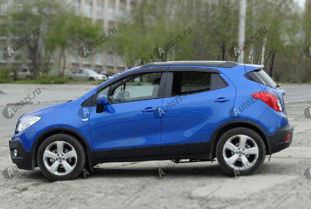 Дефлекторы боковых окон Opel MokkaДефлекторы боковых окон<br>Дефлекторы боковых окон индивидуальны для каждого автомобиля. Продукция изготовлена с помощью точного компьютерного оборудования и новейших технологий. Дефлекторы окон блокируют сильный ветер, бурный поток во...<br>