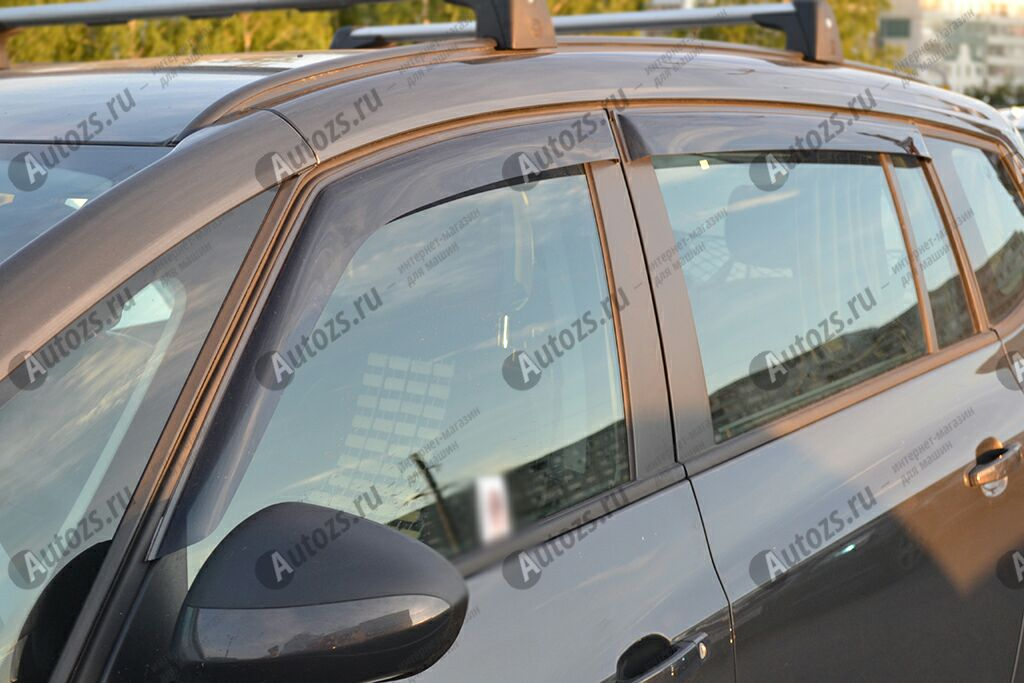 Дефлекторы боковых окон Opel Zafira C (2012+)Дефлекторы боковых окон<br>Дефлекторы боковых окон индивидуальны для каждого автомобиля. Продукция изготовлена с помощью точного компьютерного оборудования и новейших технологий. Дефлекторы окон блокируют сильный ветер, бурный поток во...<br>