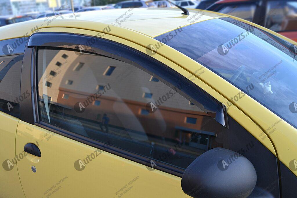 Дефлекторы боковых окон Peugeot 107I Рестайлинг 2Хэтчбек 3дв. (2012-2014)Дефлекторы боковых окон<br>Дефлекторы боковых окон индивидуальны для каждого автомобиля. Продукция изготовлена с помощью точного компьютерного оборудования и новейших технологий. Дефлекторы окон блокируют сильный ветер, бурный поток во...<br>