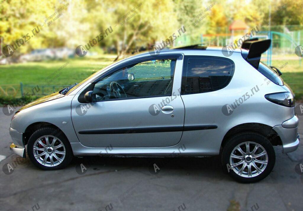 Купить Дефлекторы боковых окон Peugeot 206Хэтчбек 3дв. (1998-2012)