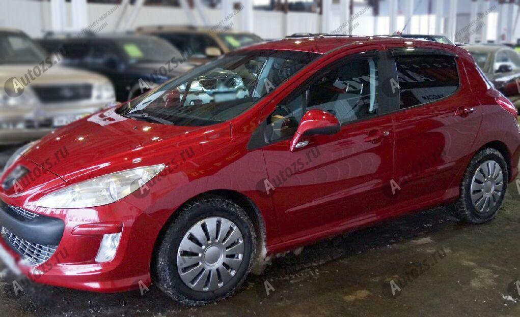 Купить Дефлекторы боковых окон Peugeot 308I Рестайлинг Хэтчбек 5дв. (2011+)