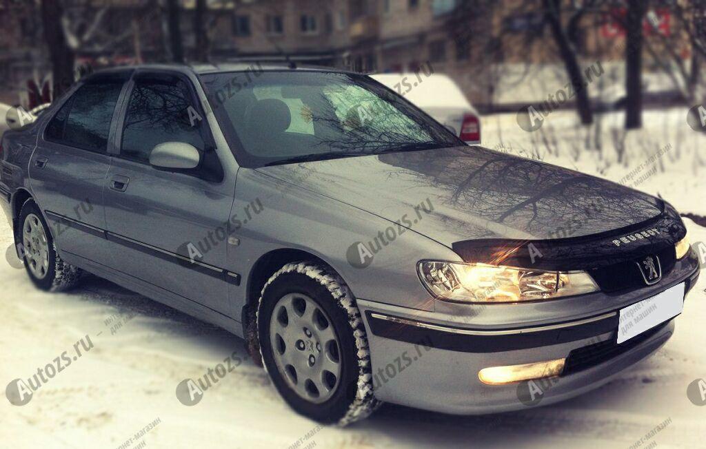Дефлекторы боковых окон Peugeot 406Седан (1995-2004)Дефлекторы боковых окон<br>Дефлекторы боковых окон индивидуальны для каждого автомобиля. Продукция изготовлена с помощью точного компьютерного оборудования и новейших технологий. Дефлекторы окон блокируют сильный ветер, бурный поток во...<br>