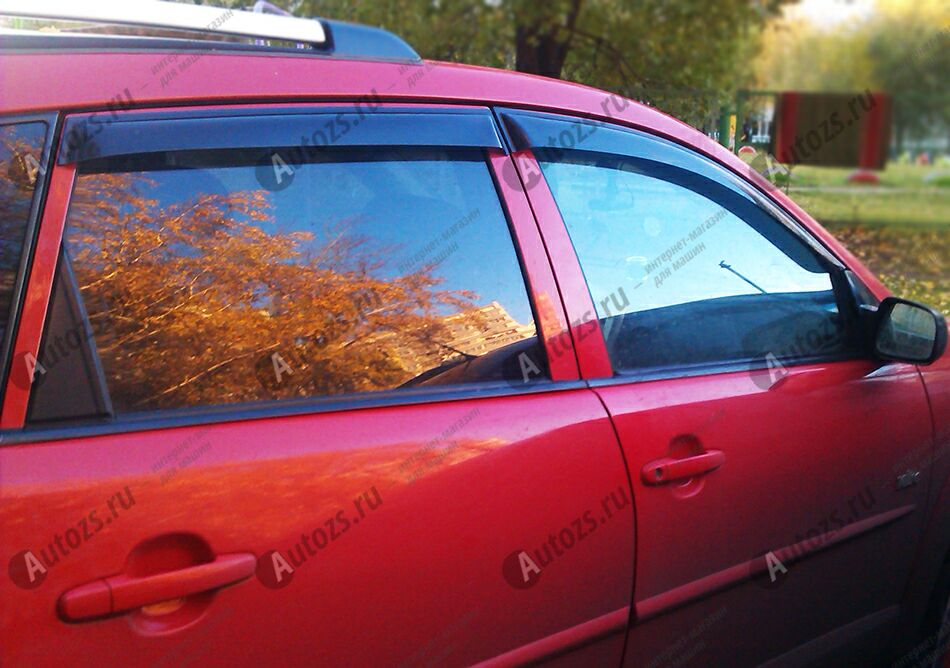Дефлекторы боковых окон Pontiac Vibe I Рестайлинг (2005-2008)Дефлекторы боковых окон<br>Дефлекторы боковых окон индивидуальны для каждого автомобиля. Продукция изготовлена с помощью точного компьютерного оборудования и новейших технологий. Дефлекторы окон блокируют сильный ветер, бурный поток во...<br>