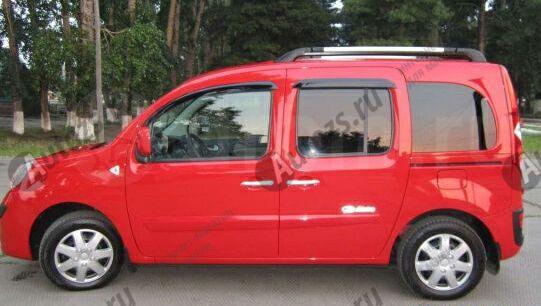 Купить Дефлекторы боковых окон Renault Kangoo II (2008-2013)