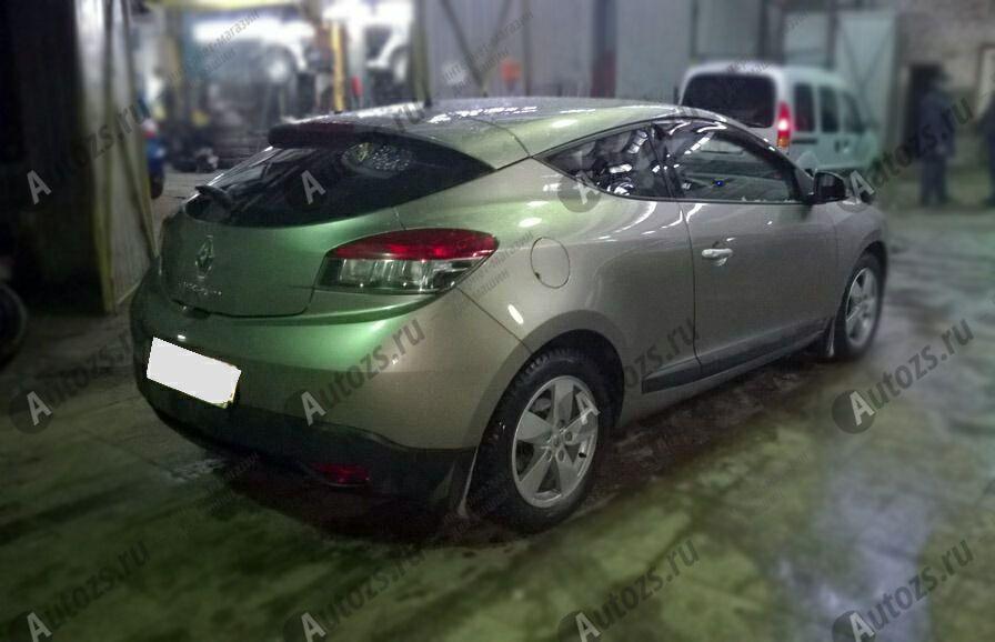 Купить Дефлекторы боковых окон Renault Megane III Рестайлинг 2Хэтчбек 3дв. (2013+)