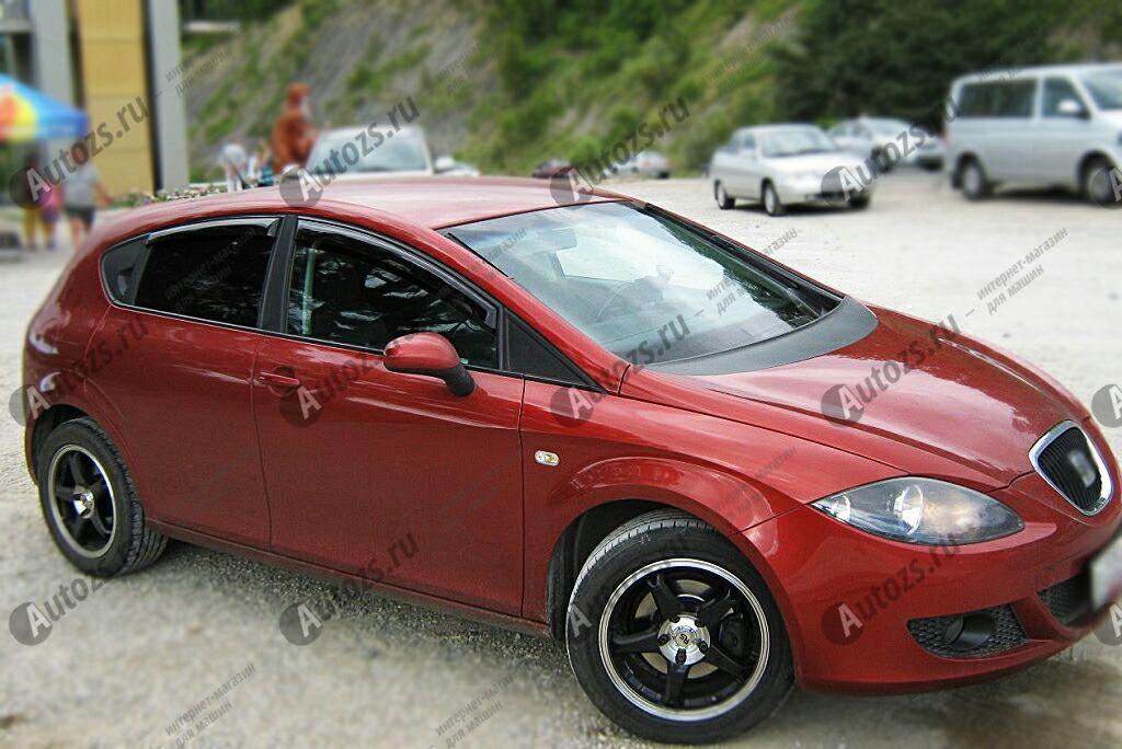 Купить Дефлекторы боковых окон SEAT Leon II (2005-2009)