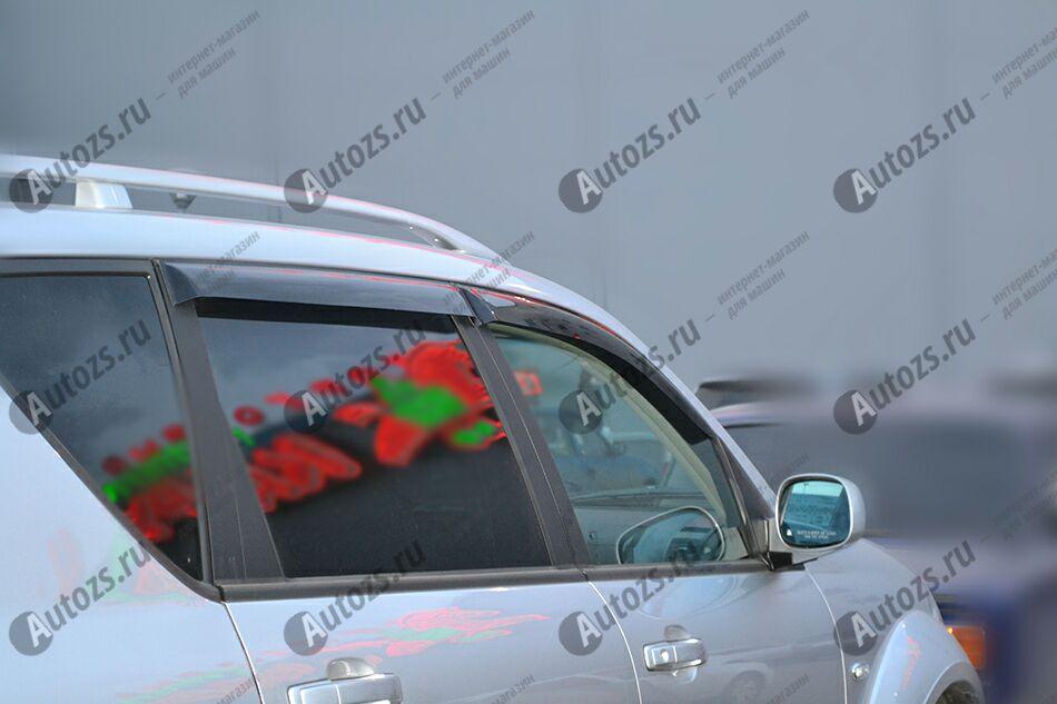 Дефлекторы боковых окон SsangYong Rexton I (2002-2008)Дефлекторы боковых окон<br>Дефлекторы боковых окон индивидуальны для каждого автомобиля. Продукция изготовлена с помощью точного компьютерного оборудования и новейших технологий. Дефлекторы окон блокируют сильный ветер, бурный поток во...<br>