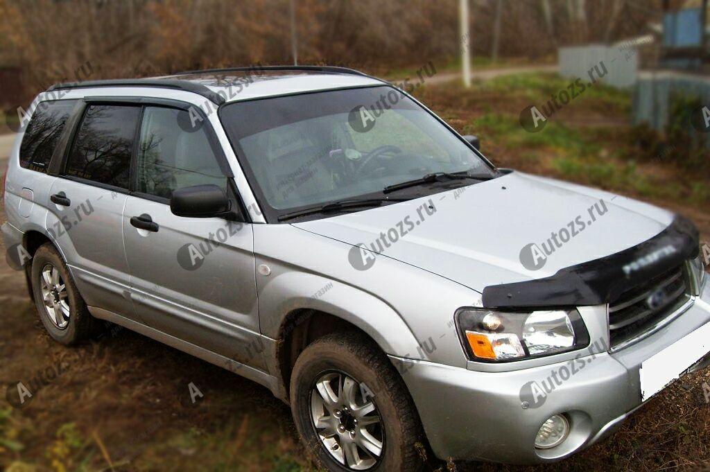 Купить Дефлекторы боковых окон Subaru Forester II Рестайлинг (2005-2008)