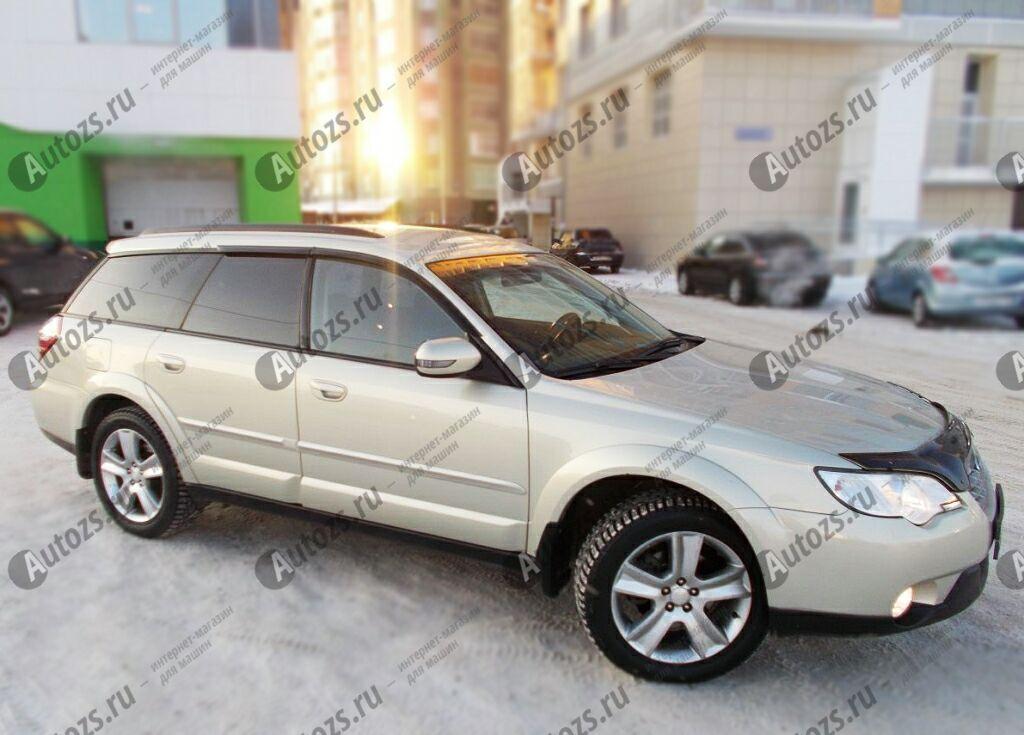Купить Дефлекторы боковых окон Subaru Legacy IV Универсал 5дв. (2003-2006)