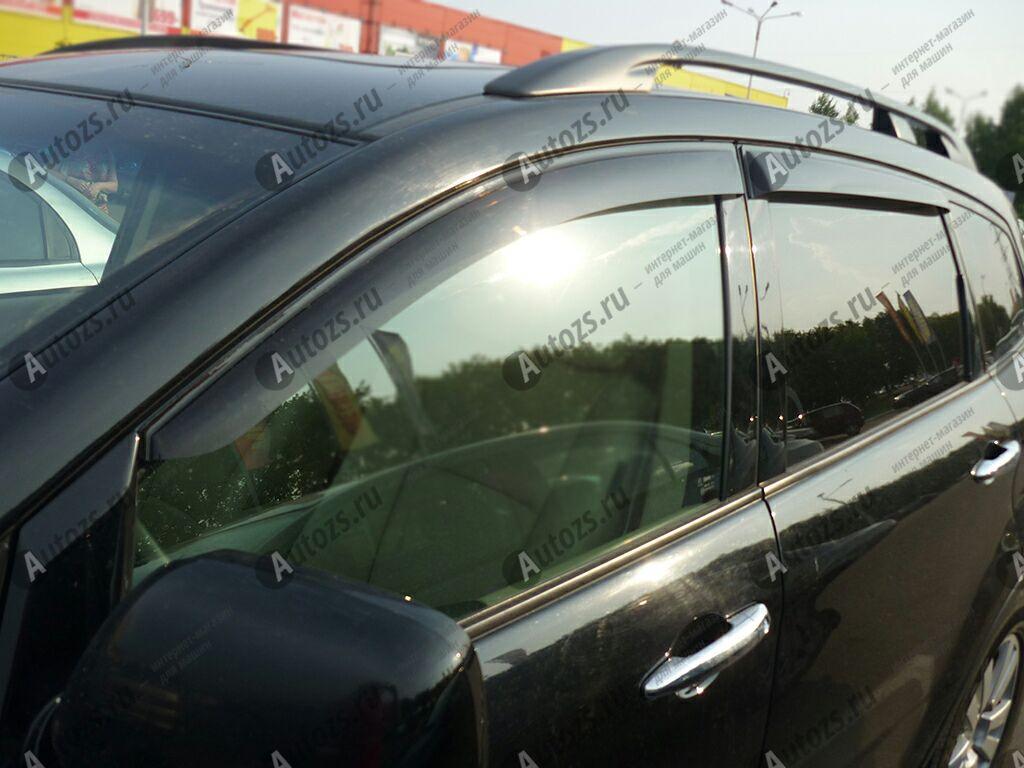Дефлекторы боковых окон Subaru Tribeca I Рестайлинг (2007-2014)Дефлекторы боковых окон<br>Дефлекторы боковых окон индивидуальны для каждого автомобиля. Продукция изготовлена с помощью точного компьютерного оборудования и новейших технологий. Дефлекторы окон блокируют сильный ветер, бурный поток во...<br>
