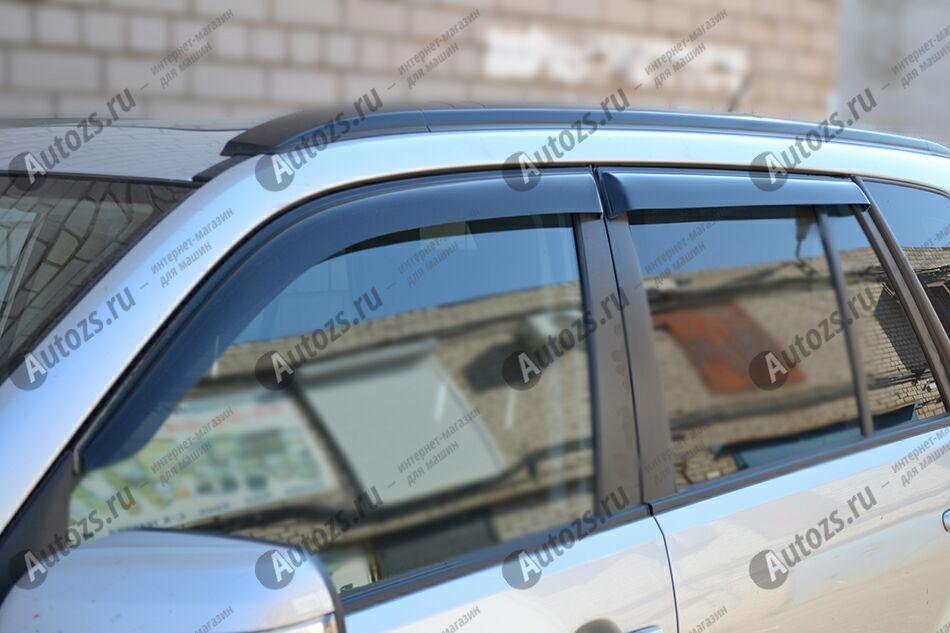 Дефлекторы боковых окон Suzuki Grand Vitara II Внедорожник 5дв. (2005-2008)Дефлекторы боковых окон<br>Дефлекторы боковых окон индивидуальны для каждого автомобиля. Продукция изготовлена с помощью точного компьютерного оборудования и новейших технологий. Дефлекторы окон блокируют сильный ветер, бурный поток во...<br>