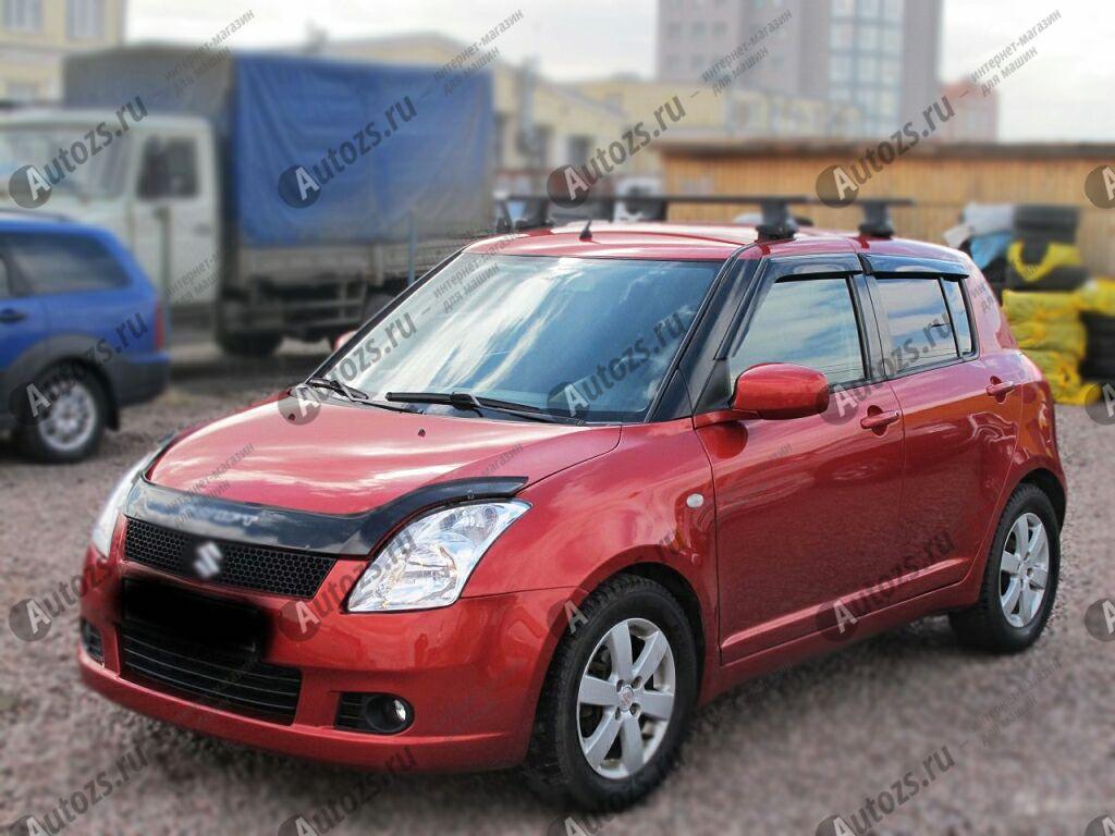 Купить Дефлекторы боковых окон Suzuki Swift IV Хэтчбек 5дв. (2011-2013)