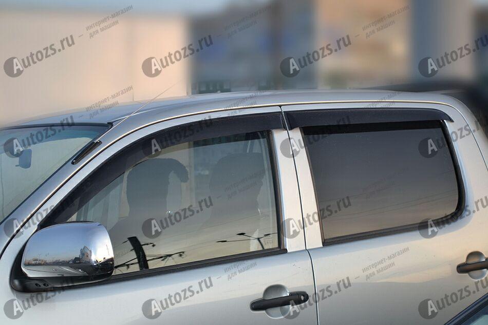Купить Дефлекторы боковых окон Toyota Hilux VII Рестайлинг (2011+)