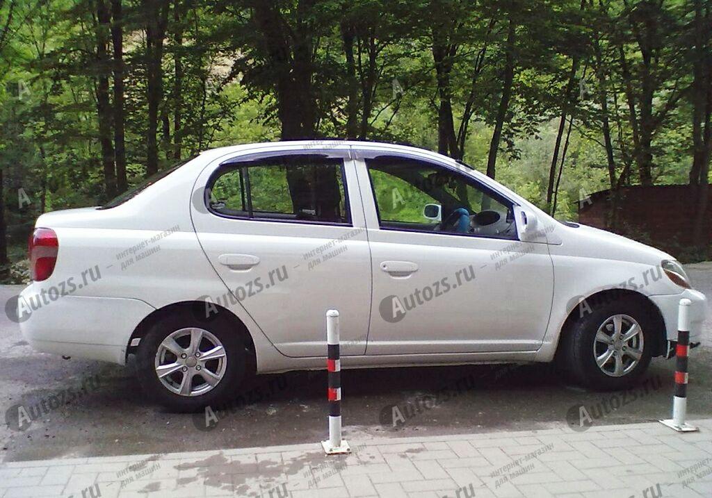 Купить Дефлекторы боковых окон Toyota Echo Седан (1999-2005)