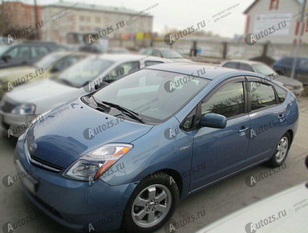 Купить Дефлекторы боковых окон Toyota Prius II (NHW20) (2003-2009)