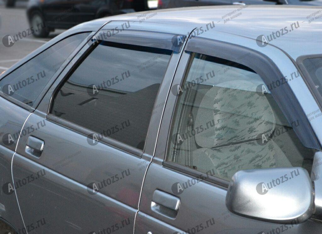 Дефлекторы боковых окон ВАЗ (Lada) 2110Дефлекторы боковых окон<br>Дефлекторы боковых окон индивидуальны для каждого автомобиля. Продукция изготовлена с помощью точного компьютерного оборудования и новейших технологий. Дефлекторы окон блокируют сильный ветер, бурный поток во...<br>