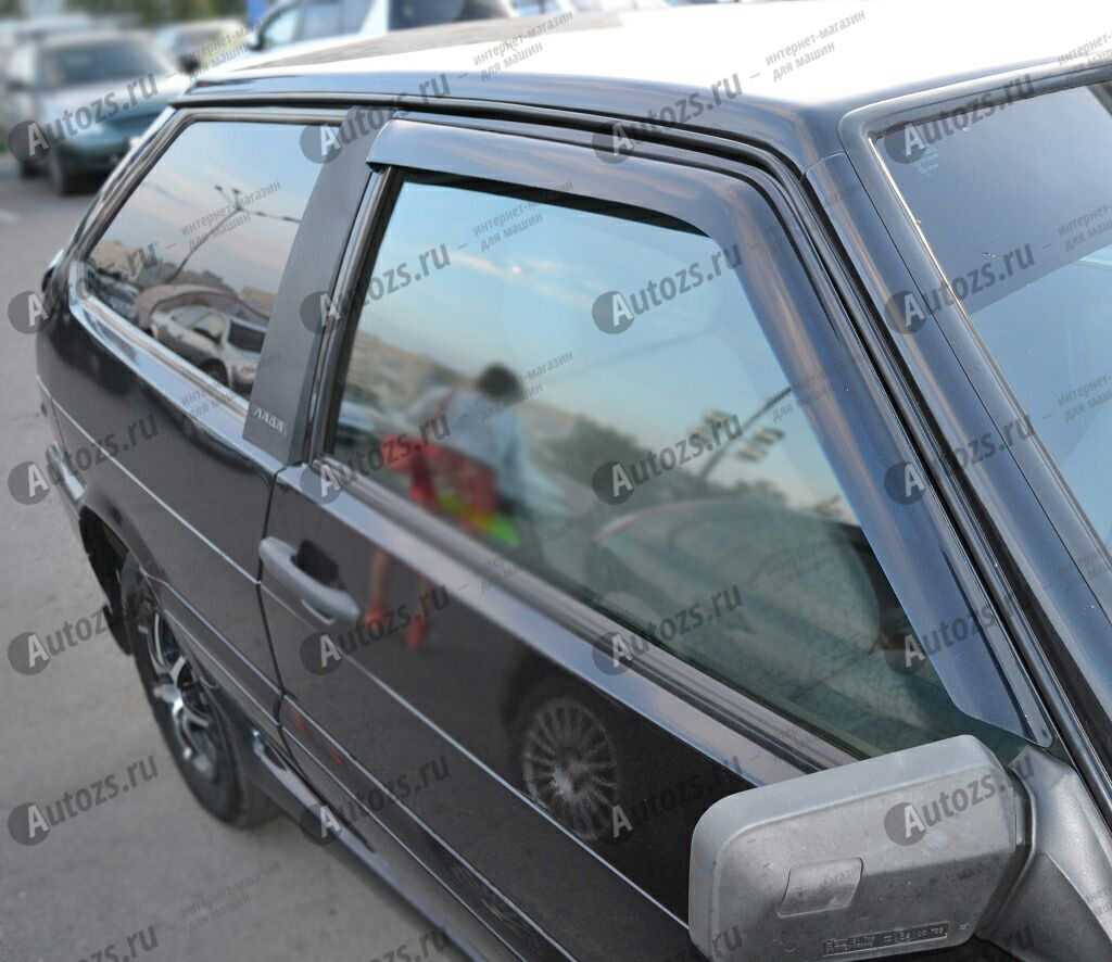 Купить Дефлекторы боковых окон ВАЗ (Lada) 2108Хэтчбек 3дв. (1980-2005)