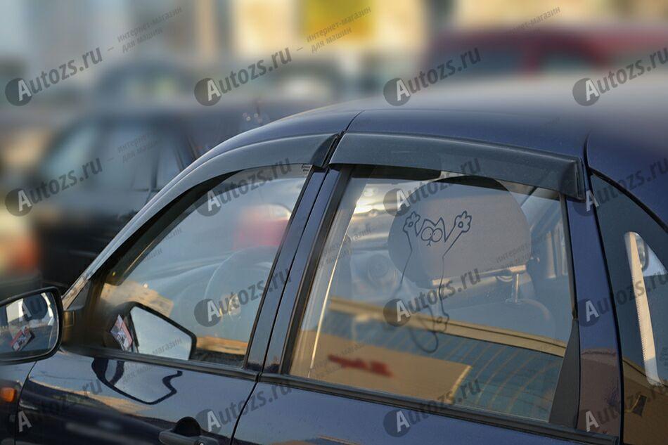 Дефлекторы боковых окон ВАЗ (Lada) Granta Лифтбек (2011+)Дефлекторы боковых окон<br>Дефлекторы боковых окон индивидуальны для каждого автомобиля. Продукция изготовлена с помощью точного компьютерного оборудования и новейших технологий. Дефлекторы окон блокируют сильный ветер, бурный поток во...<br>