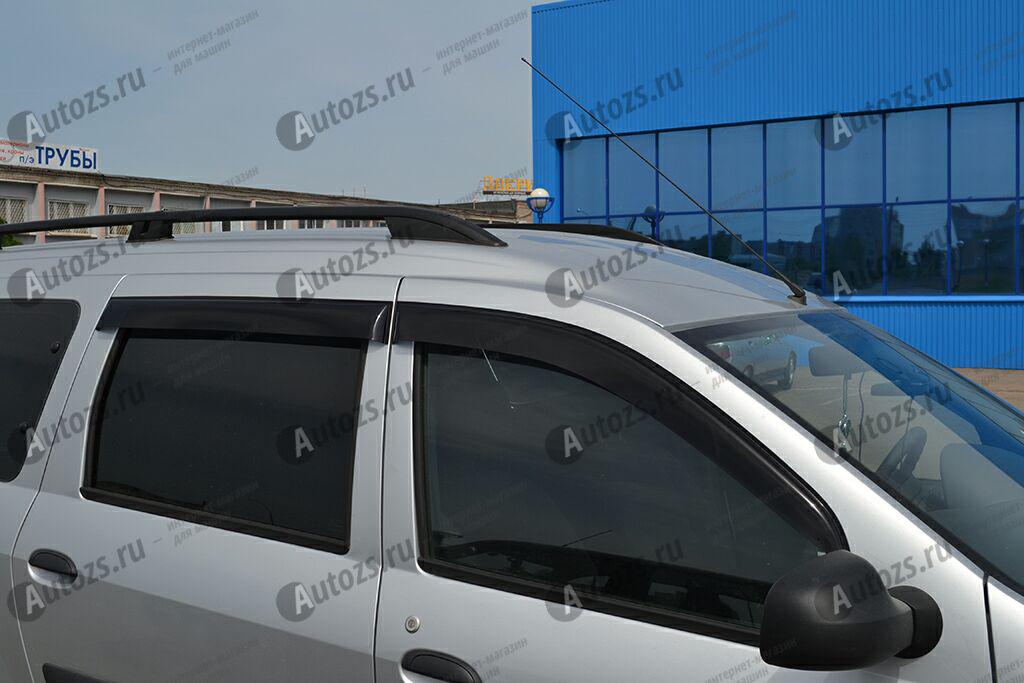 Дефлекторы боковых окон ВАЗ (Lada) LargusДефлекторы боковых окон<br>Дефлекторы боковых окон индивидуальны для каждого автомобиля. Продукция изготовлена с помощью точного компьютерного оборудования и новейших технологий. Дефлекторы окон блокируют сильный ветер, бурный поток во...<br>