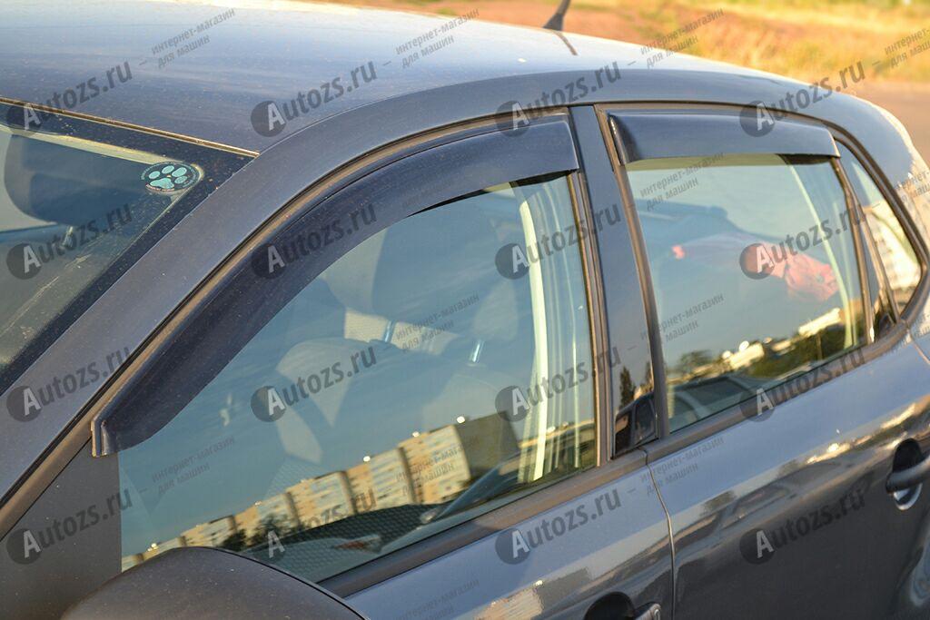 Дефлекторы боковых окон Volkswagen Polo V Хэтчбек 5дв. (2009-2015)Дефлекторы боковых окон<br>Дефлекторы боковых окон индивидуальны для каждого автомобиля. Продукция изготовлена с помощью точного компьютерного оборудования и новейших технологий. Дефлекторы окон блокируют сильный ветер, бурный поток во...<br>