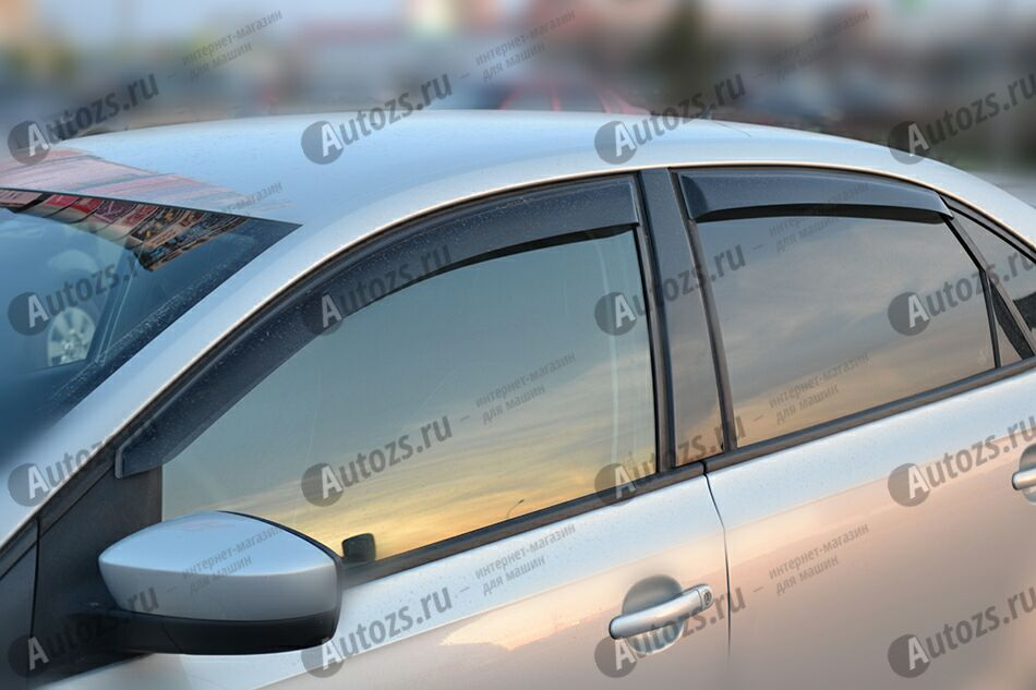 Дефлекторы боковых окон Volkswagen Polo V Седан (2009-2015)Дефлекторы боковых окон<br>Дефлекторы боковых окон индивидуальны для каждого автомобиля. Продукция изготовлена с помощью точного компьютерного оборудования и новейших технологий. Дефлекторы окон блокируют сильный ветер, бурный поток во...<br>