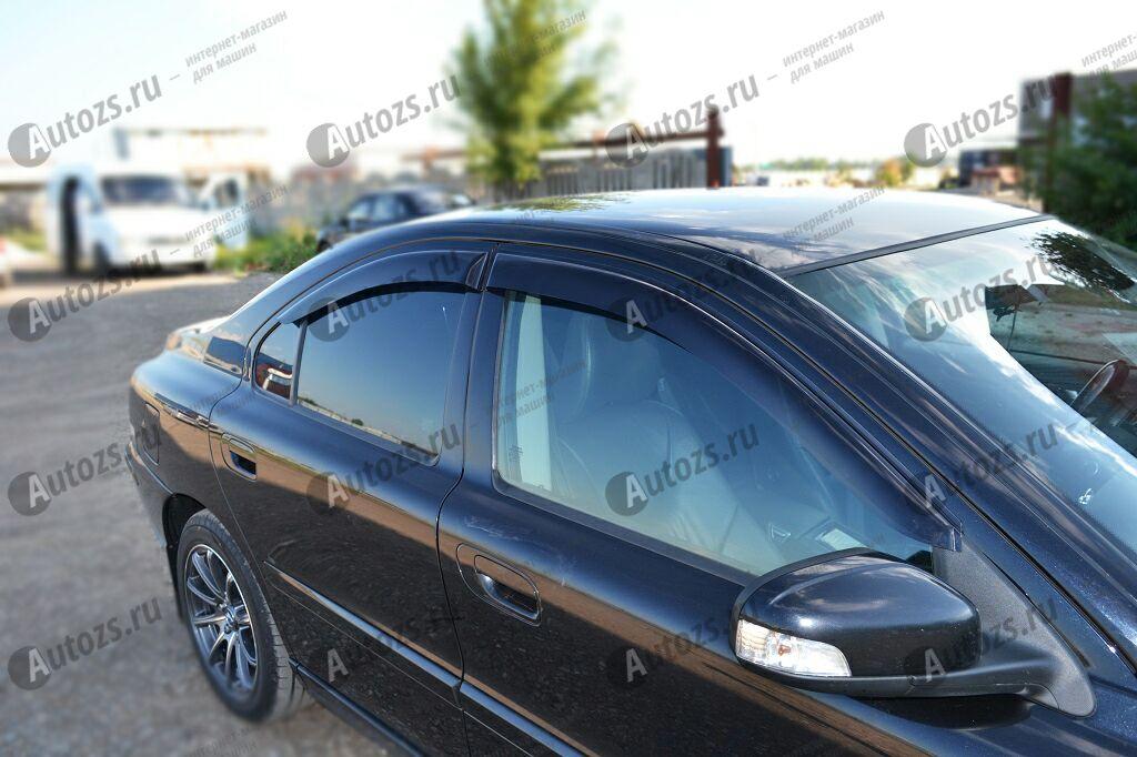 Купить Дефлекторы боковых окон Volvo S60 I Рестайлинг (2004-2009)