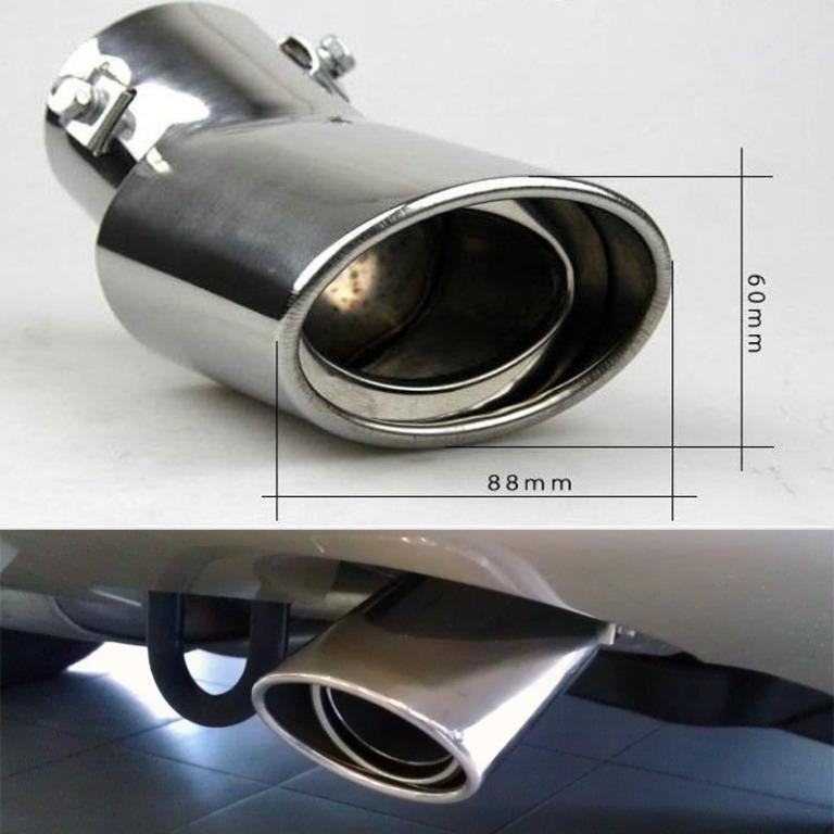Насадка на выхлопную трубу Hyundai Solaris (Хендай Солярис)Хромированные накладки Hyundai Solaris <br>Универсальнаянасадка на выхлопную трубу предназначена для украшения экстерьера автомобиля. Аксессуар изготовлен из нержавеющей стали, которая обладает превосходными эксплуатационными характеристиками. Насадка...<br>