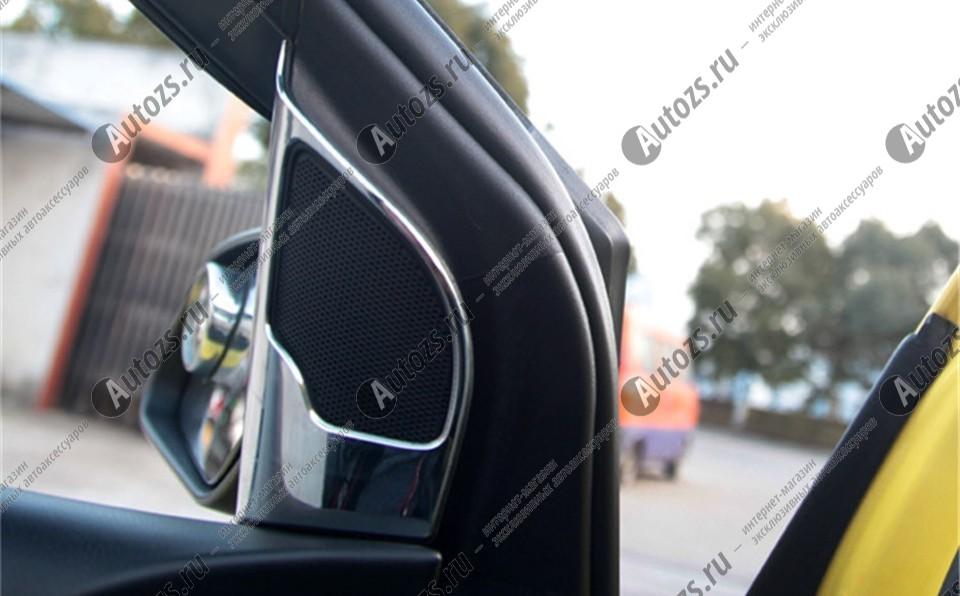 Купить со скидкой Декоративные накладки на дверные динамики Ford Focus 2 2005-2011