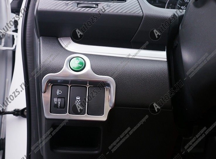 Декоративная накладка на левую консоль салона Honda CR-V 4 2012+