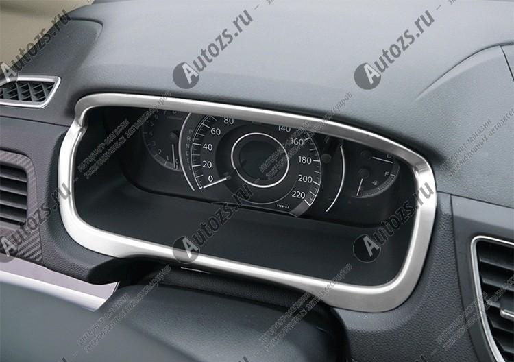 Декоративная накладка на панель приборов Honda CR-V 4 2012+