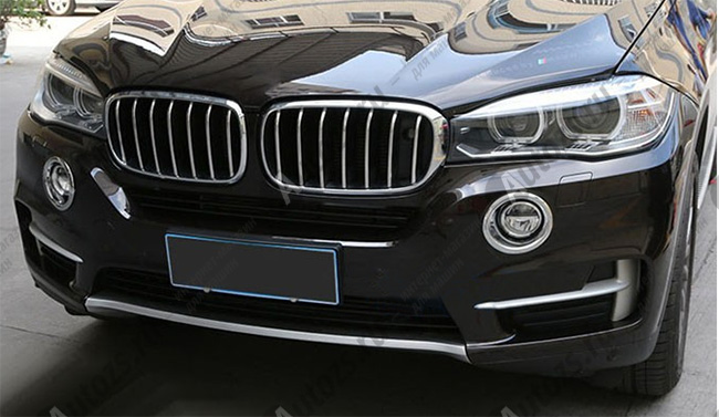Накладки на передние ПТФ BMW X4 2014+