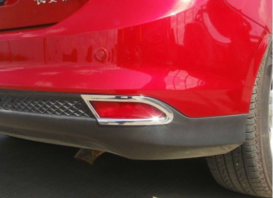 Купить Накладки на задние ПТФ Ford Focus 3 2011-2015 B