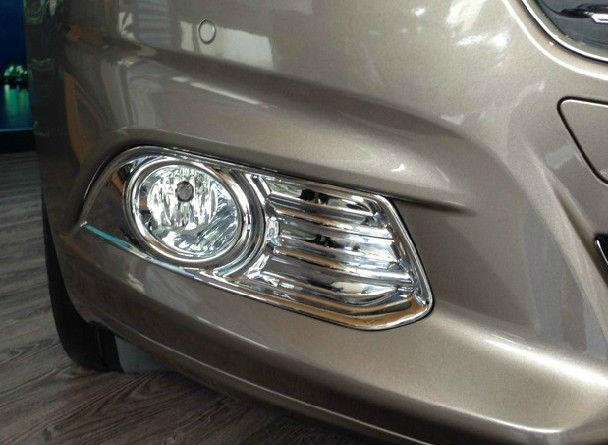 Купить со скидкой Накладки на передние ПТФ Ford Mondeo 5 2014+
