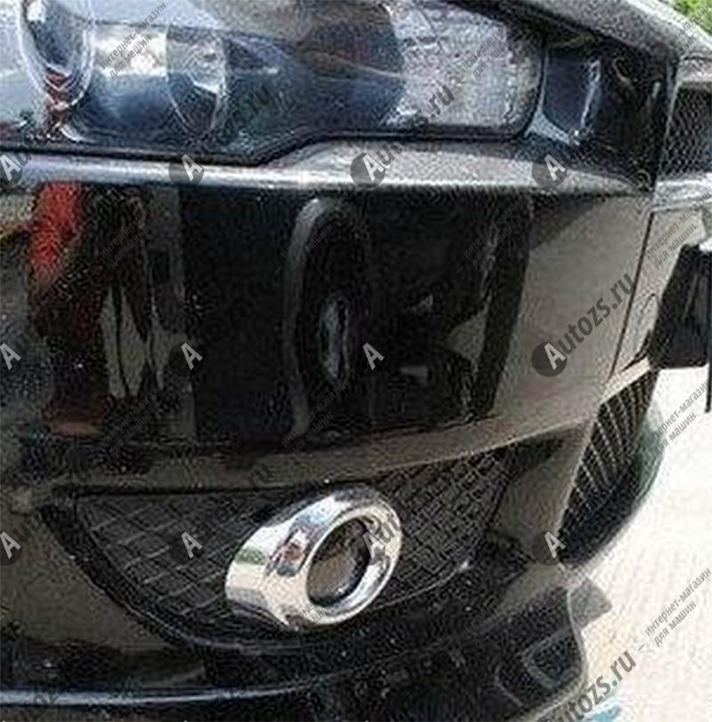 Купить Накладки на передние ПТФ Mitsubishi Lancer 10 2007-2011