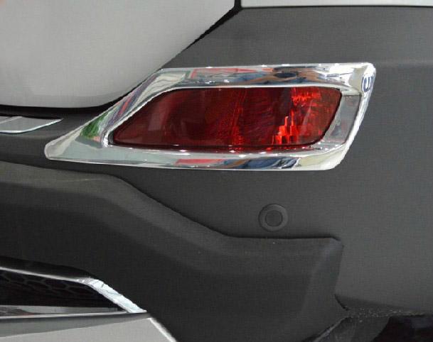 Накладки на задние ПТФ Toyota Rav 4 CA40 2013-2015