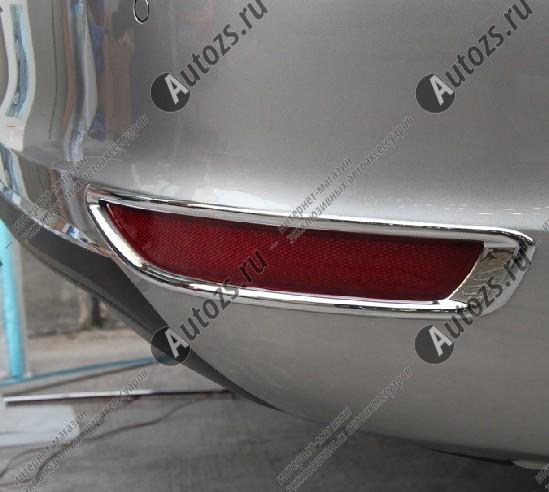 Купить со скидкой Накладки на задние ПТФ Volkswagen Jetta 6 2011-2014