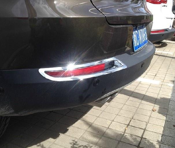 Купить со скидкой Накладки на задние ПТФ Volkswagen Tiguan 1 2007-2015