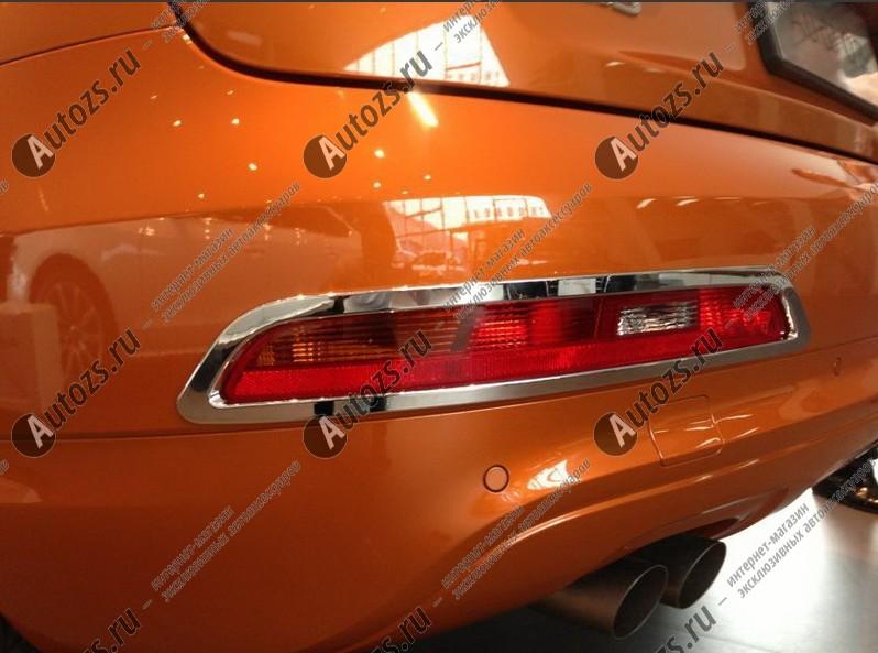 Накладки на задние ПТФ Audi Q3 Typ 8U 2011-2014Хромированные накладки Audi Q3<br>Накладки для ПТФ с нанесенным слоем хромового покрытия служат эффектной деталью внешней декоративной отделки автомобилей, в оформлении которых уже используются другие хромированные аксессуары. Кроме того, наклад...<br>